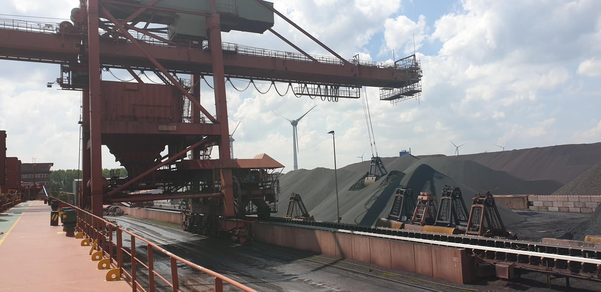 Iron Slag Shipment